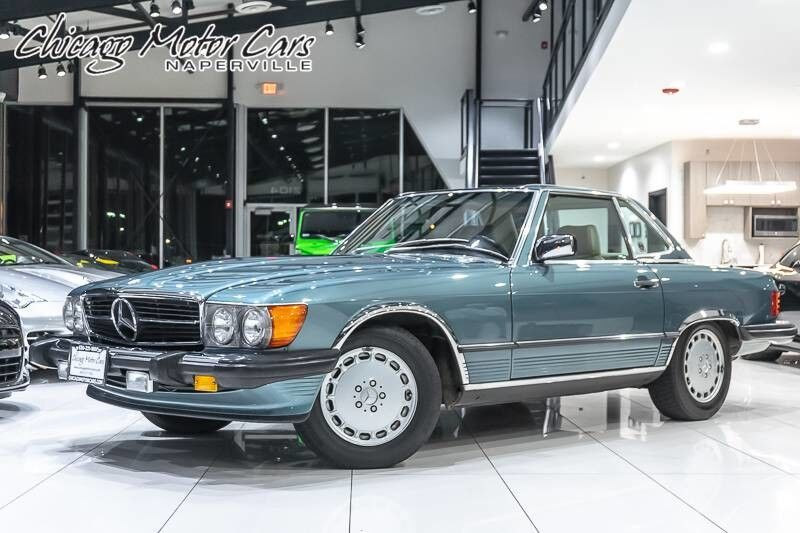1989_Mercedes-Benz_560SL_Roadster **CLASSIC COLLECTOR'S CAR**_ Chicago IL