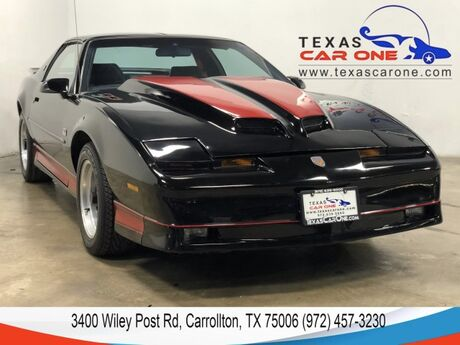 1989 Pontiac Firebird Trans Am GTA 5.7L V8 T AUTOMATIC TOPS LEATHER SEATS LEATHER STEERING WHEE Carrollton TX