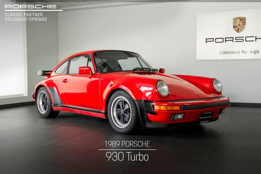 1989 Porsche 911 911 930 Turbo Colorado Springs CO