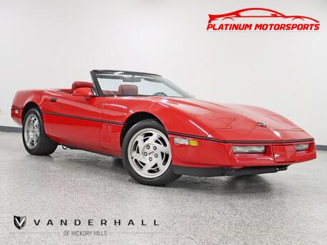 1990_Chevrolet_Corvette Convertible_Auto 43K Miles Leather Loaded Carfax Certified_ Hickory Hills IL