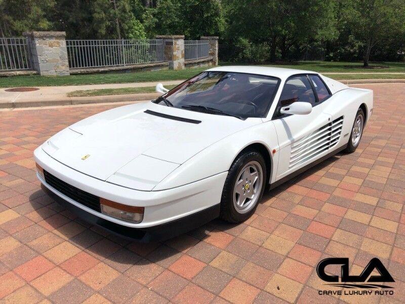 1990 Ferrari Testarossa  The Woodlands TX