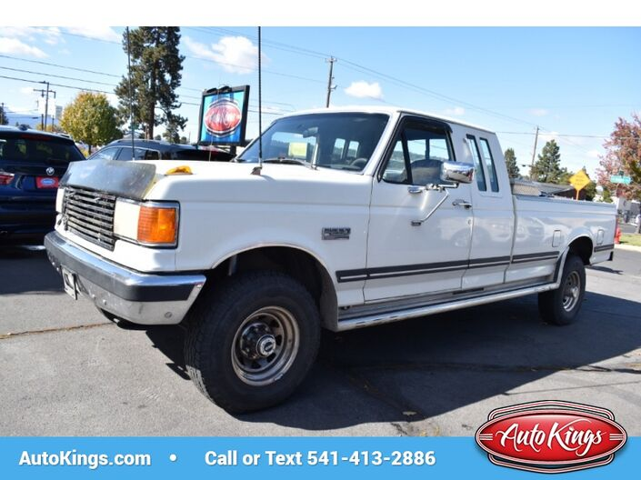 1990 Ford F-250 HD Supercab 155 WB 4WD Bend OR