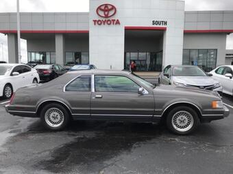 1990_Lincoln_Mark VII_2dr Coupe LSC_ Richmond KY