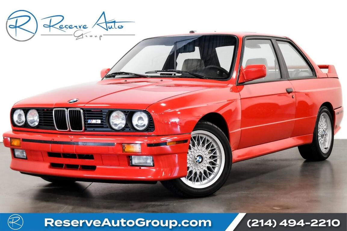 1991 BMW 3 Series M3 Paul Walker Collection All Original The Colony TX