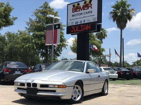 1991 BMW 8 Series 850i Houston TX