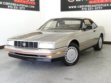 1991_Cadillac_Allante'_REMOVABLE HARD TOP DUAL LEATHER POWER SEATS SOFT TOP SYMPHONY SOUND SYSTEM_ Carrollton TX