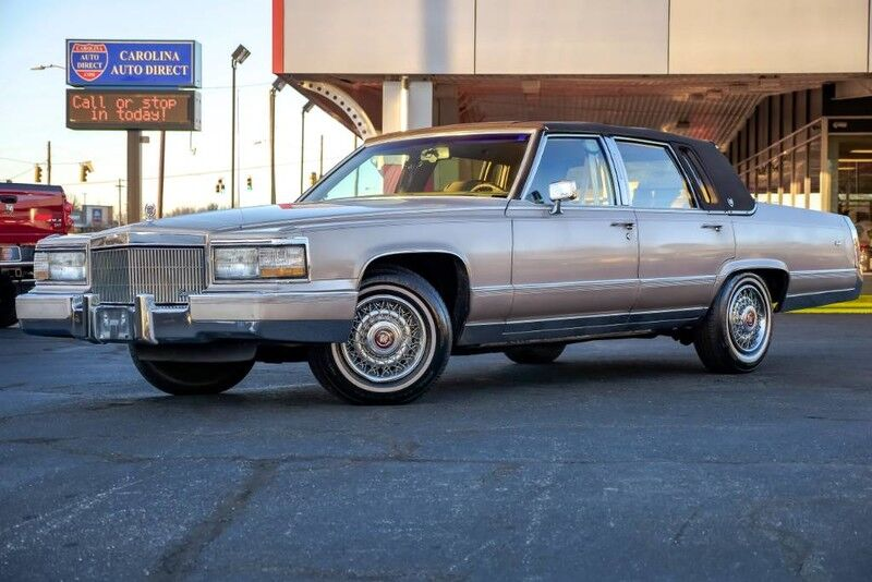 1991 Cadillac Brougham **LOW MILES** w/ Leather Seats