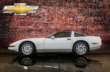 1991_Chevrolet_Corvette_ZR-1_ Red Deer AB
