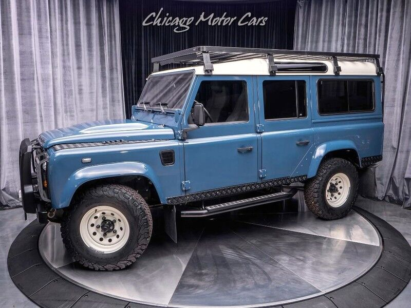 1991_Land Rover_Defender 110 Diesel_Arkonik Edition_ Chicago IL