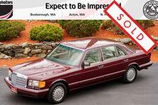 1991 Mercedes-Benz 420 SEL W126 Second Series