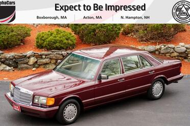 1991_Mercedes-Benz_420 SEL_W126 Second Series_ Boxborough MA
