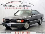 1991 Mercedes-Benz 560 Series 560SEC