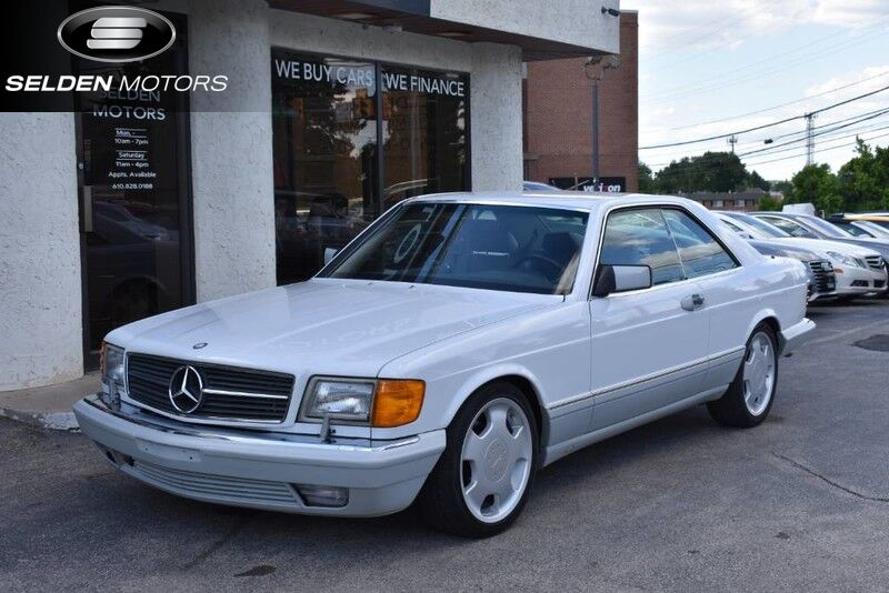 1991 Mercedes-Benz 560 Series 560SEC Conshohocken PA