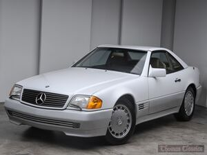 1991_Mercedes-Benz_SL_500SL_ Akron OH