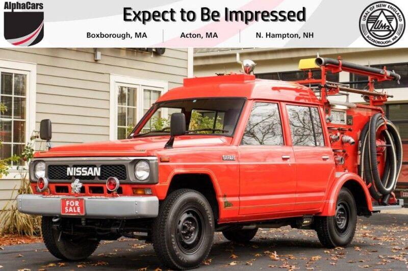1991 Nissan Patrol Safari Fire Truck Boxborough MA