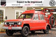 1991 Nissan Patrol Safari Fire Truck
