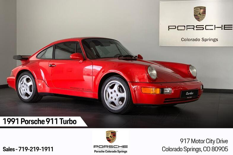 1991 Porsche 911 Turbo  Colorado Springs CO