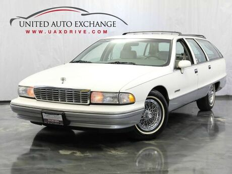 1992 Chevrolet Caprice 5.7L Engine RWD Wagon with 3rd Row Seats ** LOW MILES ** Addison IL