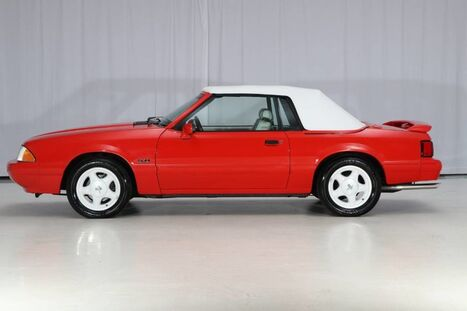 Ford Mustang Convertible LX Sport Special Edition 5.0L 5MT 1992
