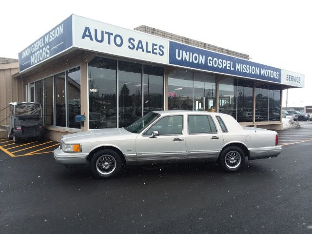 1992 Lincoln Town Car Signature Spokane Valley WA