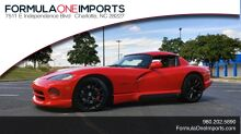 1993_Dodge_VIPER RT/10_COUPE / 6-SPD MAN / REMOVABLE TOP / LOW MILES_ Charlotte NC