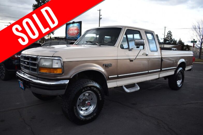 1993 Ford F-250 Supercab HD 4WD Long Bed Bend OR