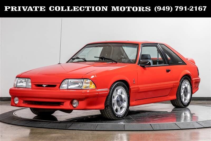 1993_Ford_Mustang_Cobra Clean Carfax_ Costa Mesa CA