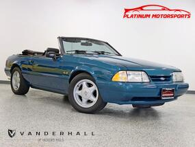 Ford Mustang LX Rare 1 of 50 Reef Blue Marti Report 5 Speed Exhaust Gear Stereo Loaded 1993