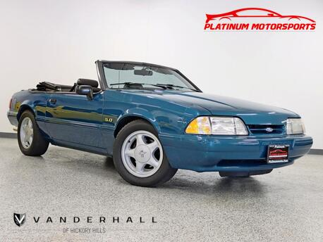 1993_Ford_Mustang LX_Rare 1 of 50 Reef Blue Marti Report 5 Speed Exhaust Gear Stereo Loaded_ Hickory Hills IL