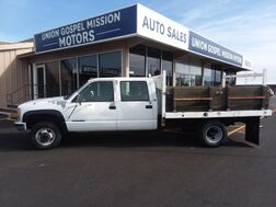 1993_GMC_Sierra C/K 3500 Flatbed_Crew Cab 8-ft. Bed 4WD_ Spokane Valley WA