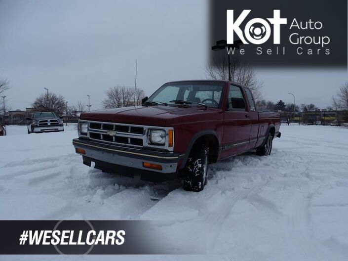 1993 GMC Sonoma Manual Transmission Kelowna BC