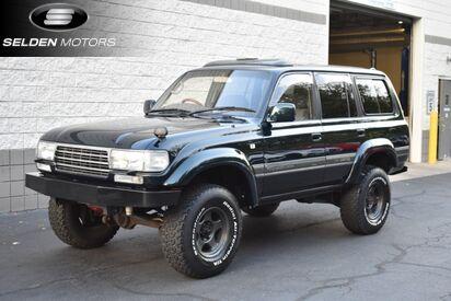 1993 Toyota Land Cruiser 4WD VX Limited