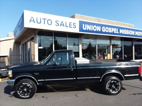 1994 Ford F-150 S Reg. Cab Long Bed 4WD Spokane Valley WA