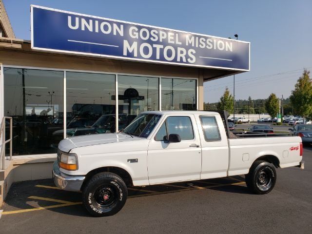 1994 Ford F-150 XL SuperCab Short Bed 4WD Spokane Valley WA