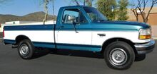 1994_Ford_F-250 XLT PKG LOW 145K REG CAB LB RUST FREE_7.3 POWERSTROKE DIESEL 5spd MANUAL TRANS NO RUST_ Phoenix AZ