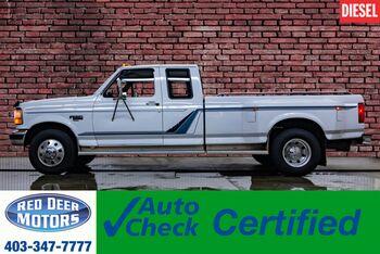 1994_Ford_F-350_4x2 Super Cab XLT Dually Diesel Manual_ Red Deer AB