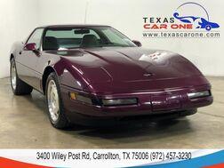 1995_Chevrolet_Corvette_AUTOMATIC LEATHER SEATS LEATHER STEERING WHEEL ALLOY WHEELS_ Carrollton TX