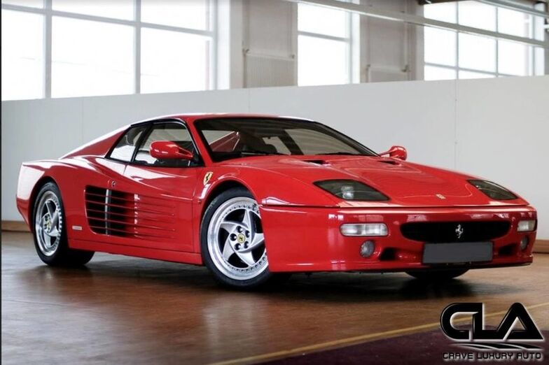 1995 Ferrari Testarossa 512M  The Woodlands TX