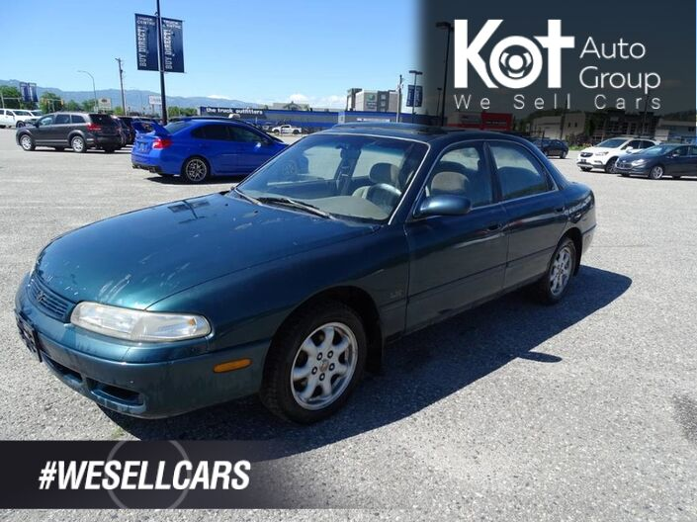1995 Mazda 626 LX, Aftermarket Deck, Sunroof Kelowna BC