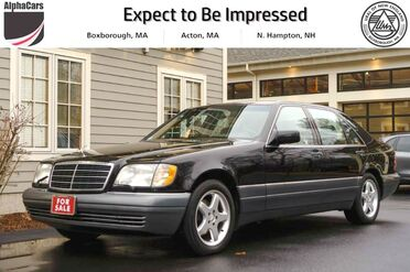 1995_Mercedes-Benz_S420_W140_ Boxborough MA