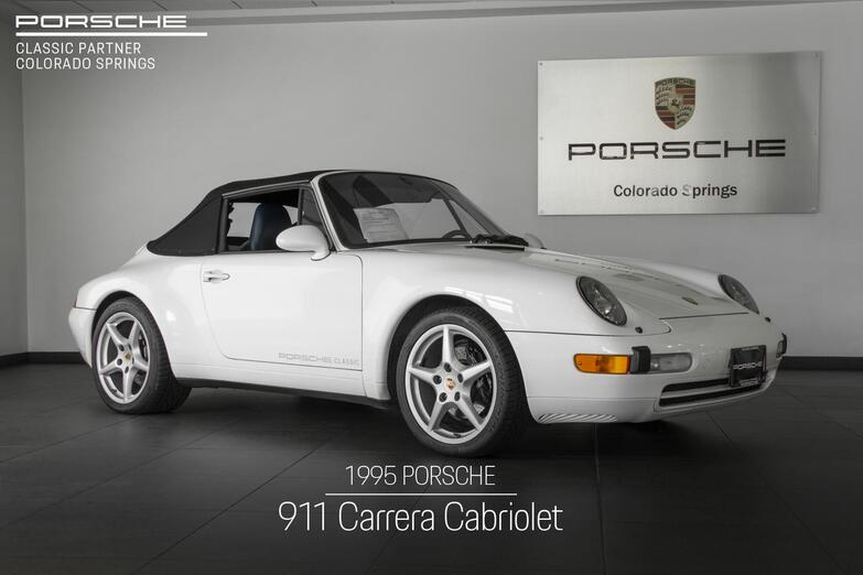 1995 Porsche 911 911 Carrera Cabriolet Colorado Springs CO