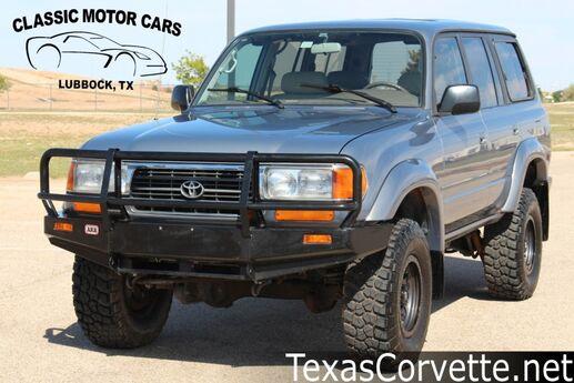 1995 Toyota Land Cruiser  Lubbock TX