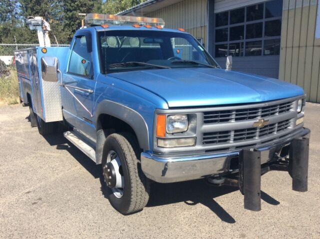 1996 Chevrolet 3500 Diesel Work Truck 4X4 Diesel Spokane WA