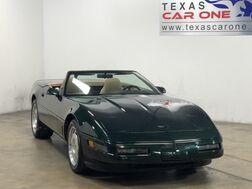 1996_Chevrolet_Corvette_AUTOMATIC LEATHER SEATS AUTOMATIC CLIMATE CONTROL LEATHER STEERI_ Carrollton TX