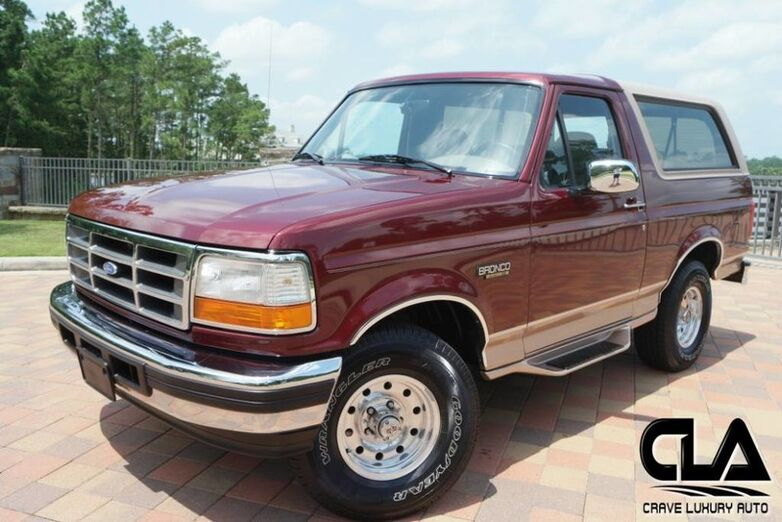 1996 Ford Bronco Eddie Bauer The Woodlands TX
