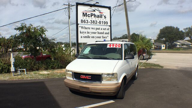 1996 GMC Safari Van EXT Wagon SLE