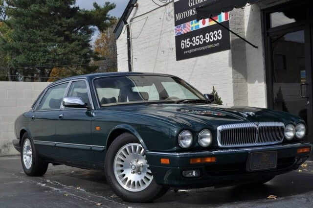 1996 Jaguar XJ Series Sedan XJ6 L/Vanden Plas/4.0-Liter/Classic Range/Wood Grain & Leather Steering Wheel/Full Leather/One Owner, Local Example Nashville TN