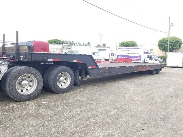 1996 Landoll Landoll 317 Trailer Hydraulic Traveling Axles 48' 77000 Lb Miami FL