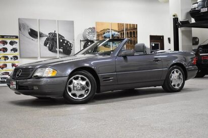 1996_Mercedes-Benz_SL 320__ Boston MA