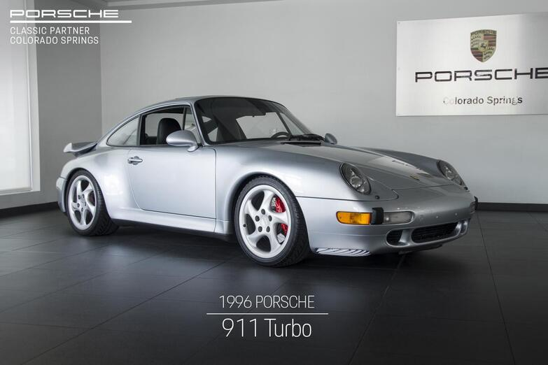 1996 Porsche 911 911 Turbo Colorado Springs CO